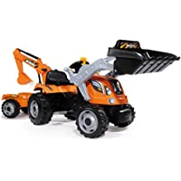 Smoby 710110 Builder Max Tractor a pedales