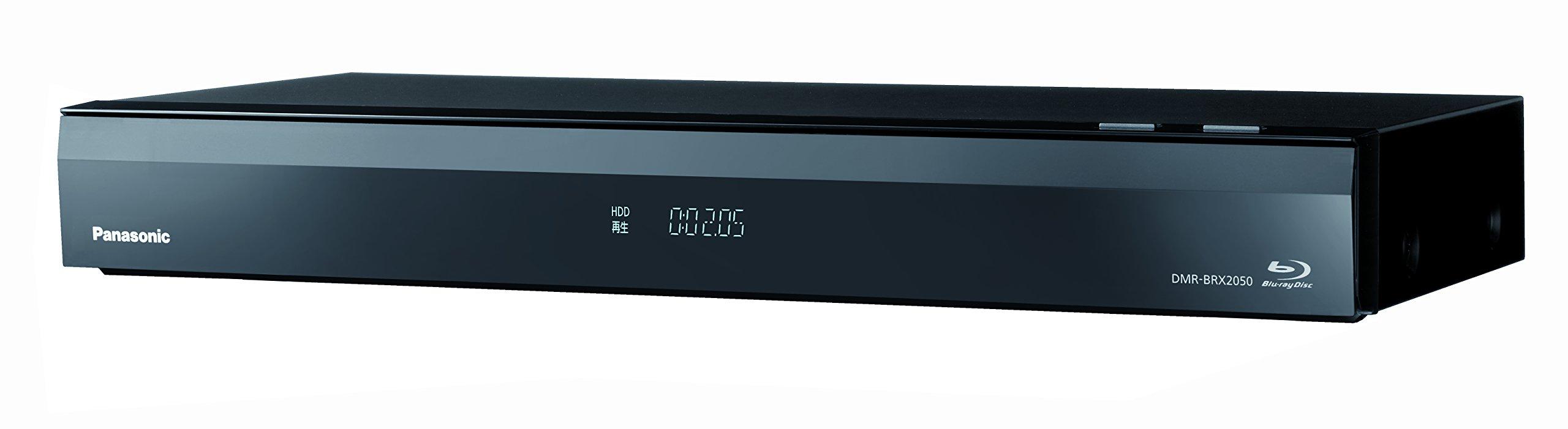 2TB 7チューナー ブルーレイレコーダー 全録 6チャンネル同時録画 4Kアップコンバート対応 全自動 おうちクラウドDIGA DMR-BRX2050