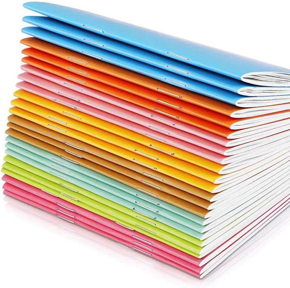 24 Piezas Libreta en Blanco Mini Cuaderno Travel Portátil Diario Adultos Niños Adecuado para Lápiz Acuarela Pluma: Amazon.es: Oficina y papelería