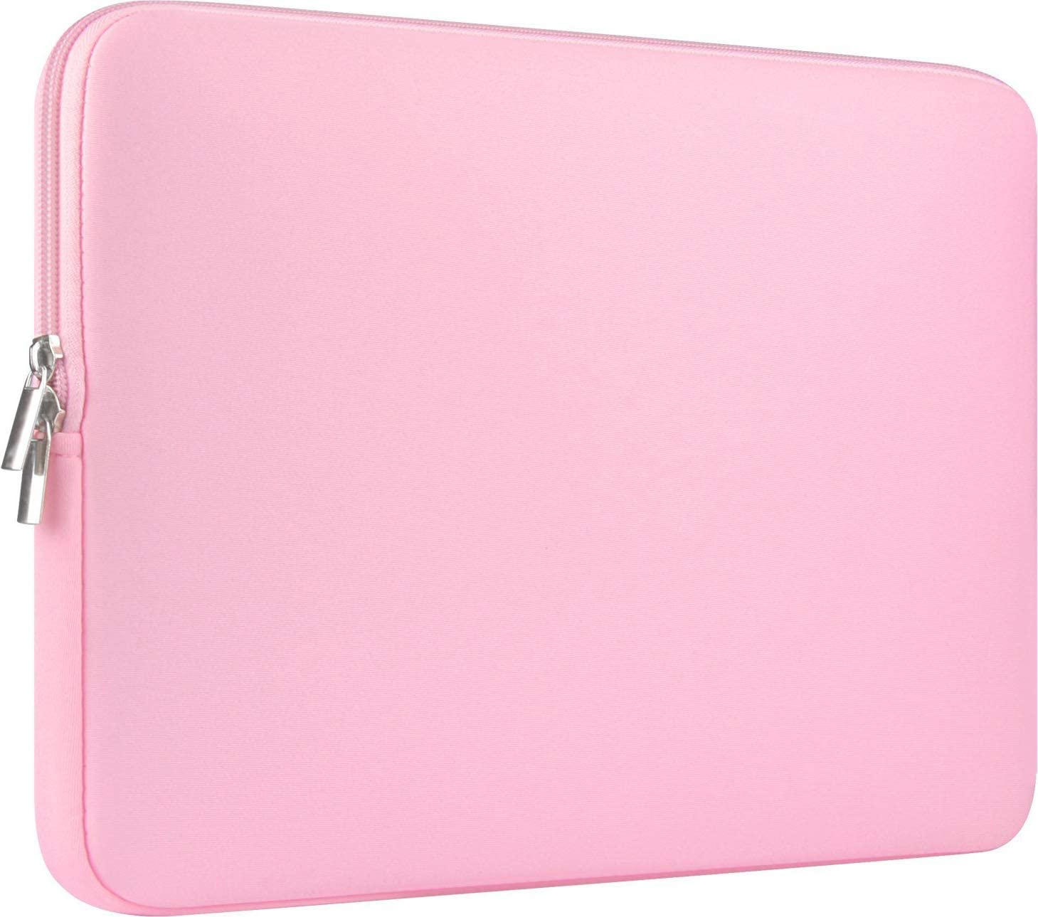 "CCPK 13 Inch Laptop Sleeve 13.3 Inch Computer Bag 13.3-inch Netbook Sleeves 12.9 in Tablet Carrying Case Cover Bags 13"" Notebook Skin Neoprene, Pink"