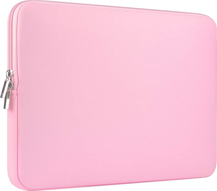 """CCPK 13 Inch Laptop Sleeve 13.3 Inch Computer Bag 13.3-inch Netbook Sleeves 12.9 in Tablet Carrying Case Cover Bags 13"""" Notebook Skin Neoprene, Pink"""