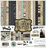 Carta Bella Paper Company CBOWT53016 Old World Travel Collection Kit