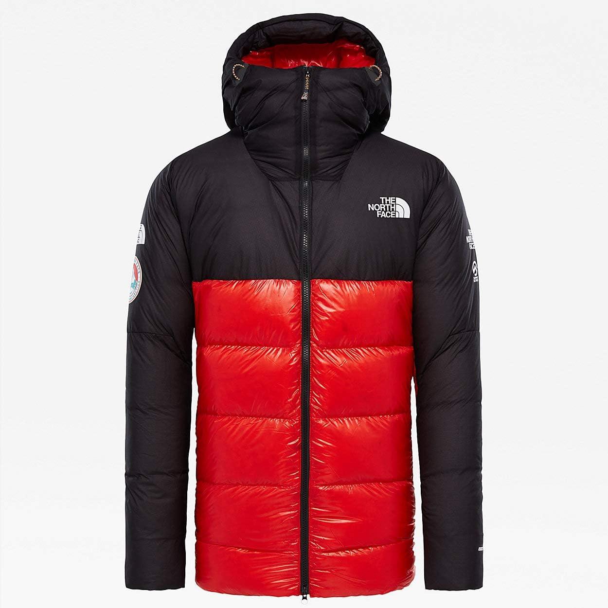 (ザ ノースフェイス) The North Face 1990 Men`s Summit Series Antarctica Expedition Belay Parka L6 男性ソムミトパディングダウンパーカ (並行輸入品) 黒/FIERY 赤 S