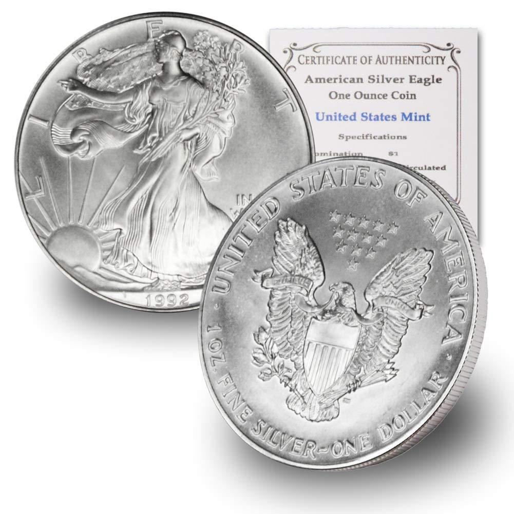 2011 1 oz American Silver Eagle BU GEM  Coin 1 Troy Ounce 999 Fine Silver
