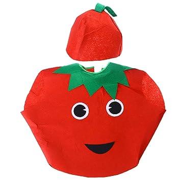 luoem disfraz con gorra de frutas Tomate Niños y bebé para regalo ...