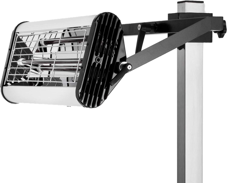 Mophorn 1000W Lampada per Vernice Riparazione Carrozzeria 220V Lampada per Vernice Auto a Infrarossi Lampada per Carrozzeria Riparazione di vernice Supporto per Asciugatrice 1000W