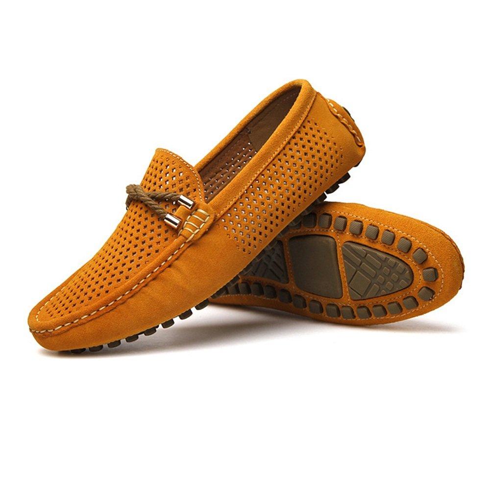 Xiazhi-shoes,, - Mocasines para Hombre Naranja Naranja 40 EU: Amazon.es: Hogar