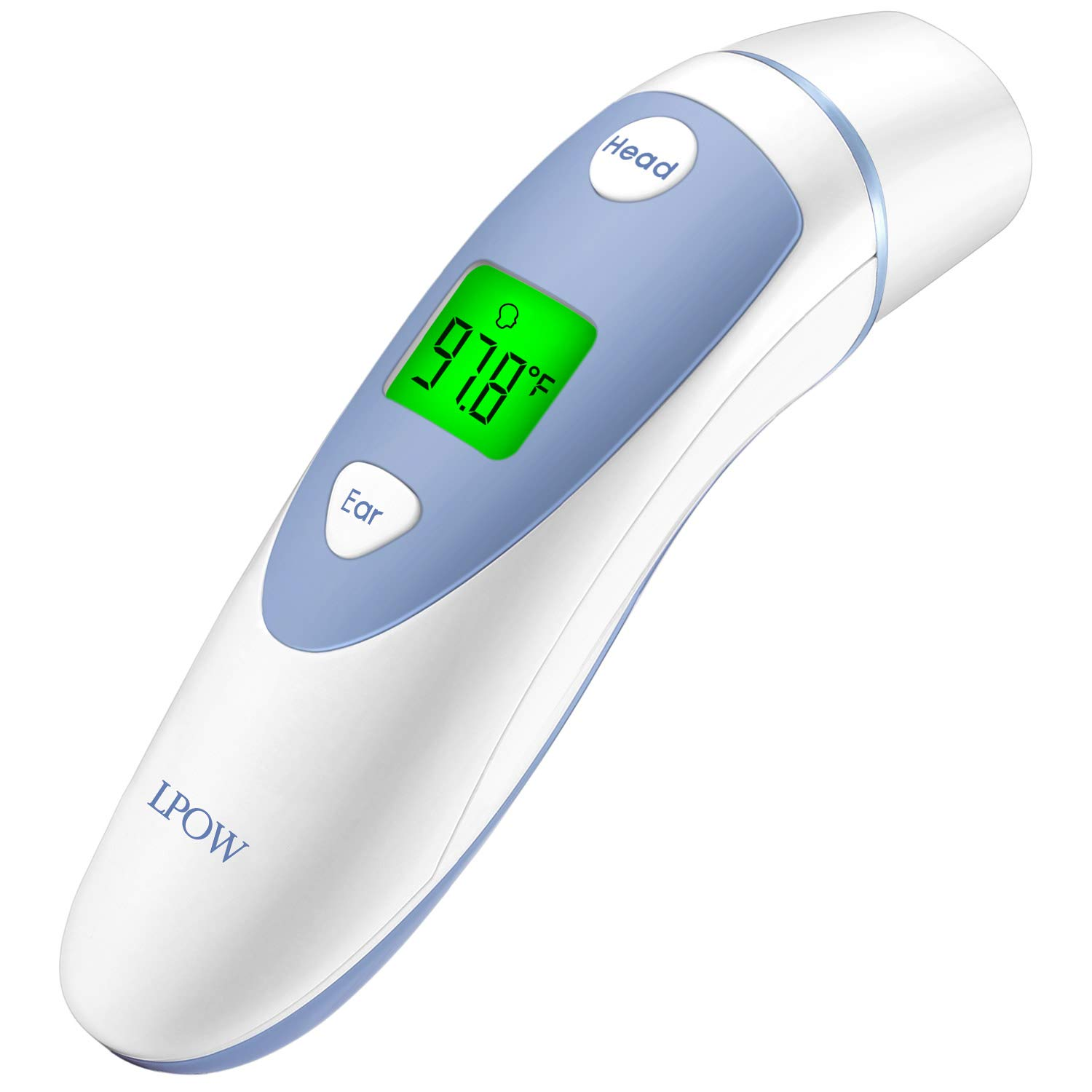 Best Children\'S Thermometer 2019 Amazon.: LPOW Baby Forehead and Ear Thermometer,Digital