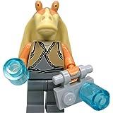 LEGO STAR WARS - Minifigur Figur Jar Jar Binks (Clone Wars) Gungan aus 7929 mit Zubehör