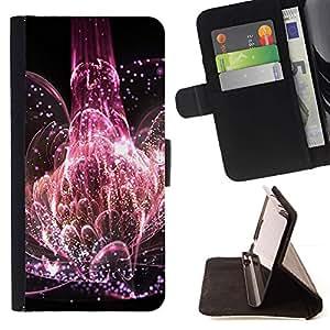 Momo Phone Case / Flip Funda de Cuero Case Cover - Universo Explosión Naturaleza Vida flor rosa - Samsung ALPHA G850