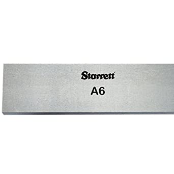 """Precision Ground 5//16/"""" Thickness O1 Tool Steel Sheet Annealed 1/"""" Width"""