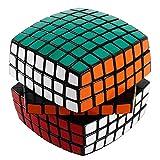 7x7x7 Rubiks Cube Brain Teasers Puzzle Toys Magic Speed Cube,Black