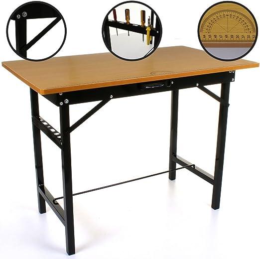 150 kg resistente portátil plegable banco de trabajo pegar mesa ...