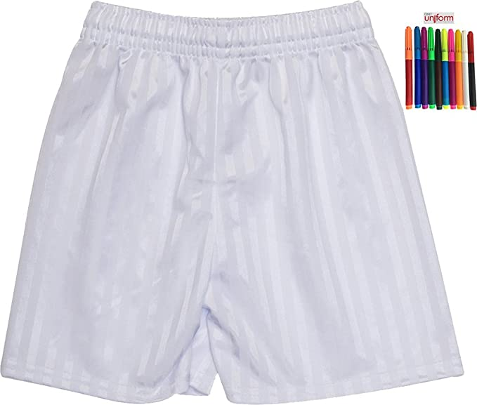Shadow Stripe Gym Sports Games School PE Shorts Unisex Only Uniform/® UK