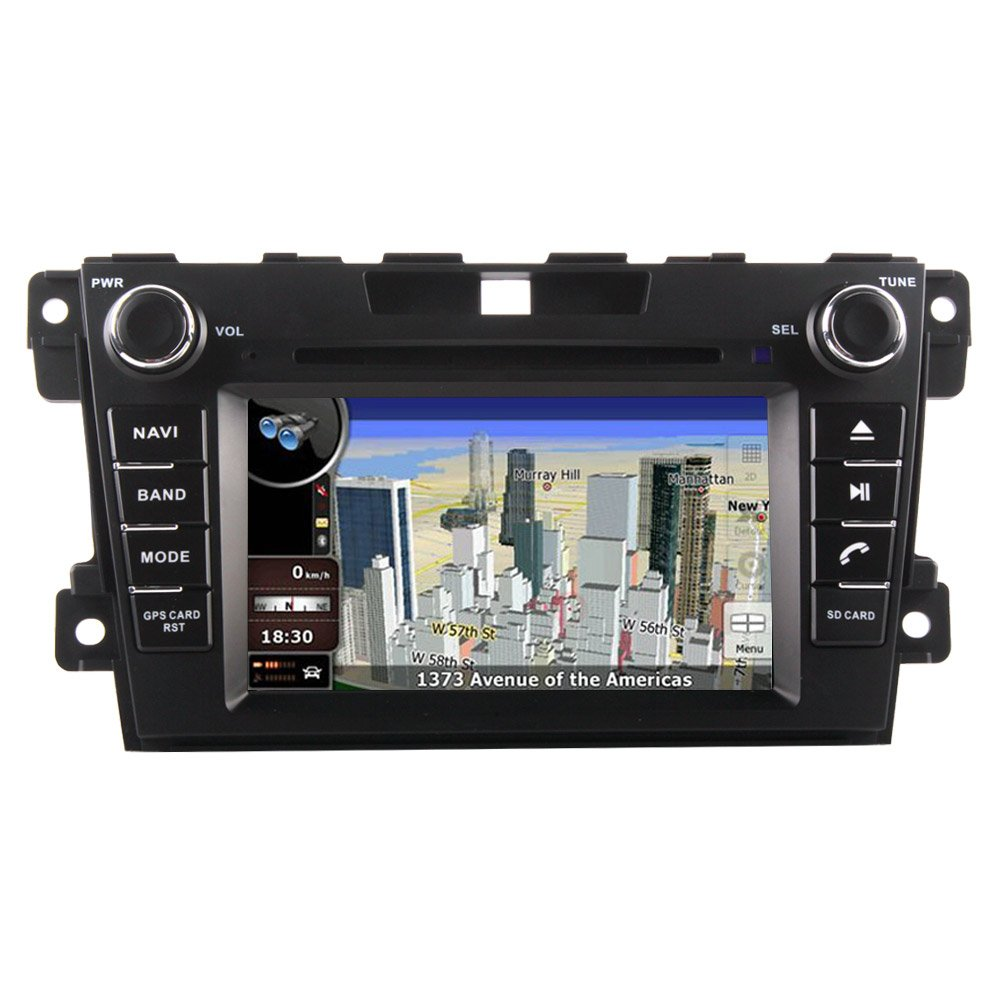 mazda cx 7 navigation system sd card