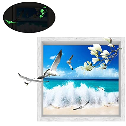 amazon com pawaca new coming 3d wall stickers for home decor diy