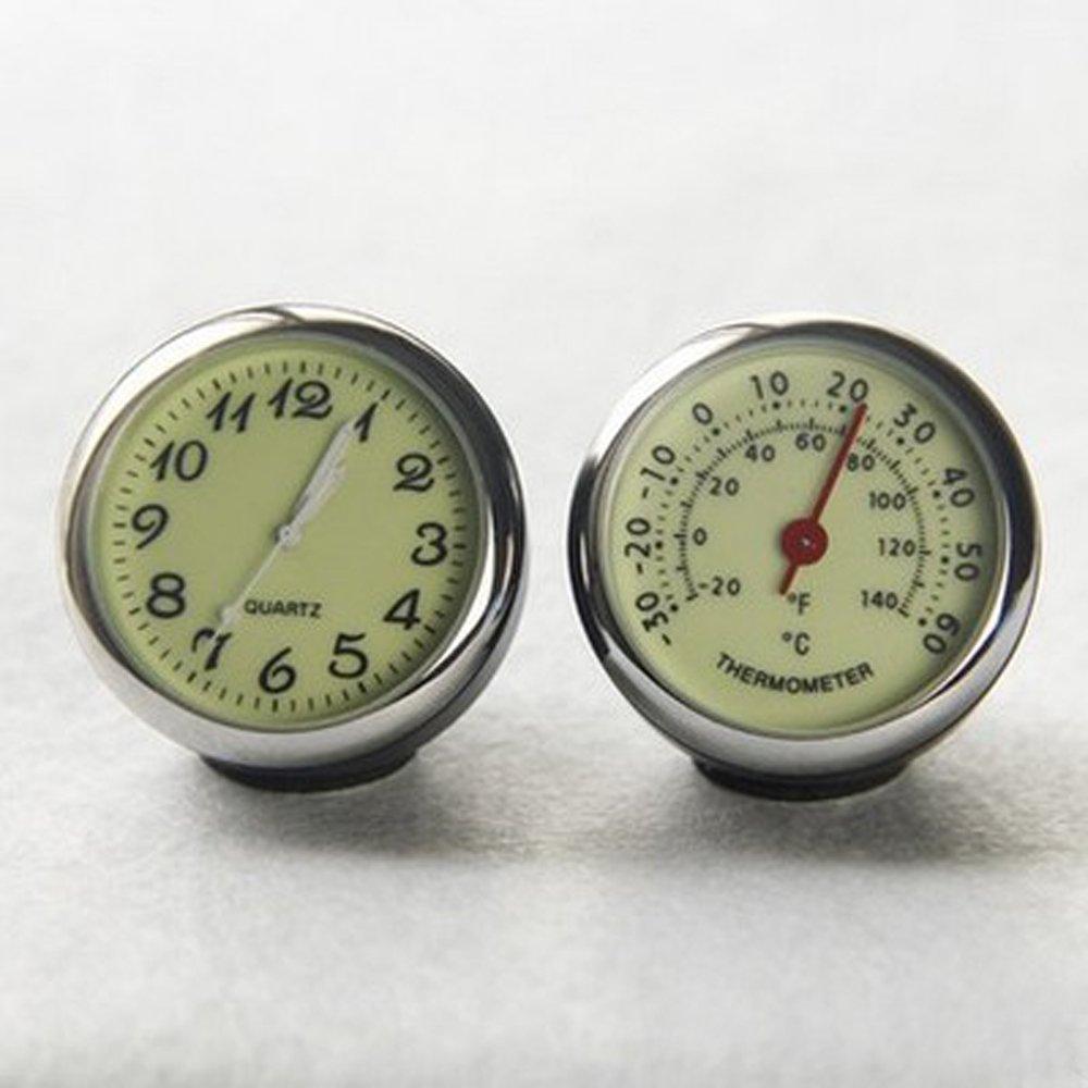 ANKI Table Classic Car Dashboard Small Round Analog Quartz Hygrometer Thermometer Humidity Meter (Luminous Thermometer) by ANKI HappiGo (Image #2)