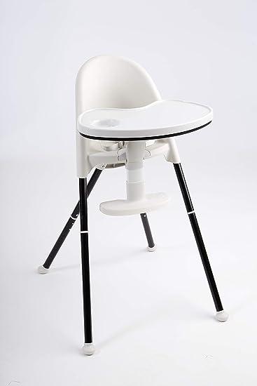 Stupendous Primo Cozy Tot Deluxe Convertible Folding High Chair Toddler Chair Black Black White Lamtechconsult Wood Chair Design Ideas Lamtechconsultcom