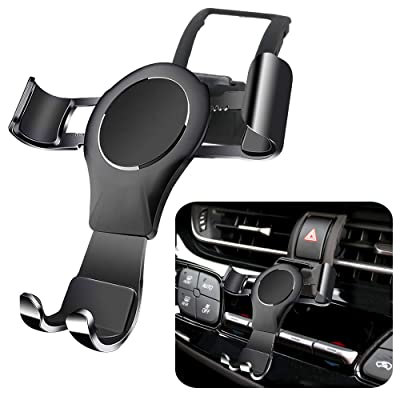 LUNQIN Car Phone Holder for Toyota CHR 2020-2020 Auto Accessories Navigation Bracket Interior Decoration Mobile Cell Phone Mount [5Bkhe1007010]