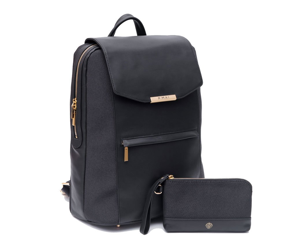 P.MAI Valletta backpack + wristlet