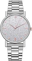 OTTATAT 2020 New Women Luxury Watches Quartz Watch Sale Fashion Stainless Steel Dial Casual Bracele Watch Rhinestone