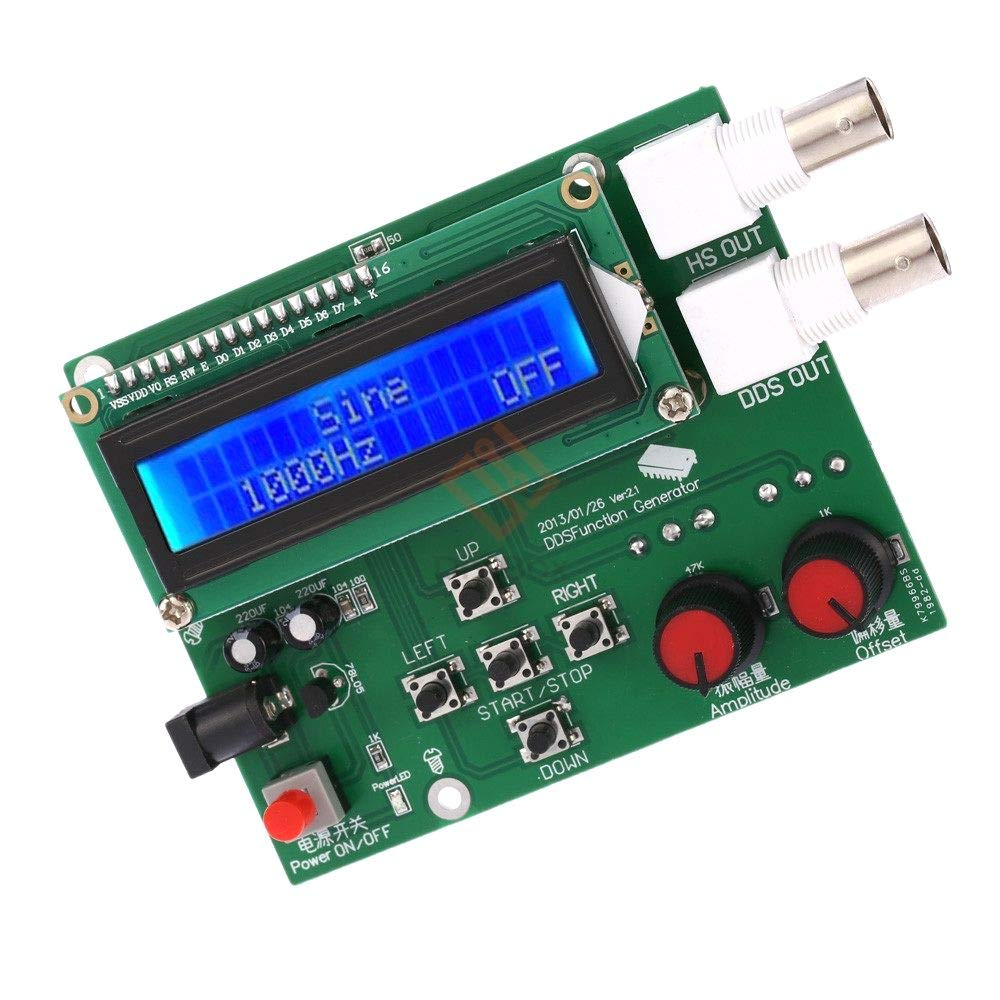 LCD DDS Function Signal Generator Square Sawtooth Triangle Sine Wave