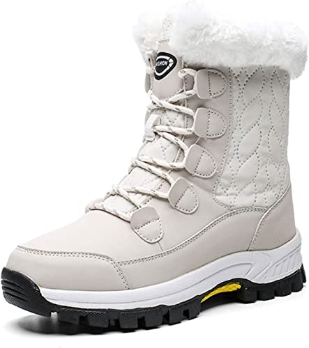 outlet online check out big discount Amazon.com | JACKSHIBO Womens Winter Boots Fur Lined Waterproof ...
