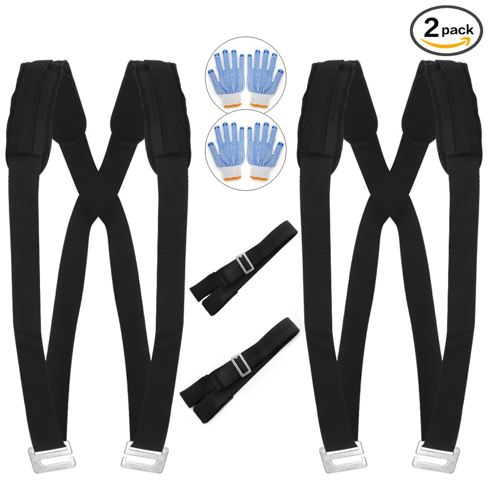Moving Straps, MYFREE Moving and Lifting Straps Easily Move, Lift, Carry, And Secure Furniture, Appliances, Heavy Objects Without Back Pain