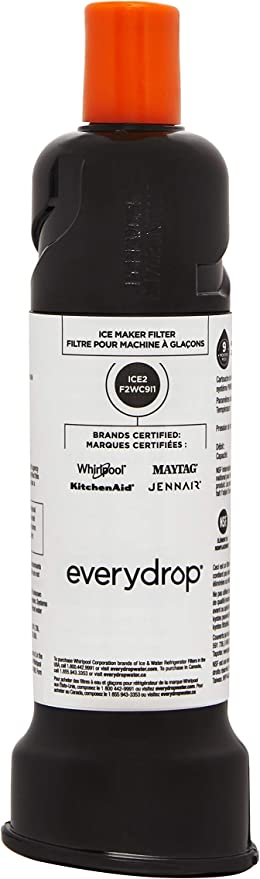 F2WC9I1 ICE2 CERTIFIED Ice Maker Replcmnt Filter Whirlpool Kitchenaid