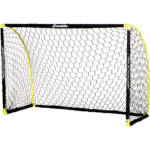 Franklin Sports Blackhawk Insta-Set Portable Soccer Goal – 6 x 4 Foot