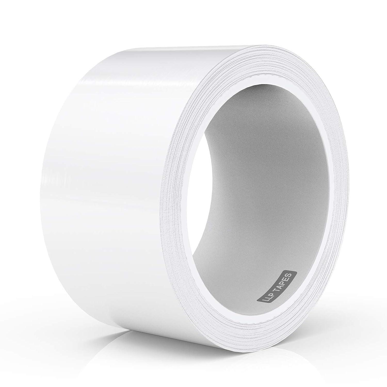 LLPT Caulk Tape White 2 Inch x 33 Feet Waterproof Adhesive for Sink Shower Bathtub Toilet Lavabo Kitchen (WS233)