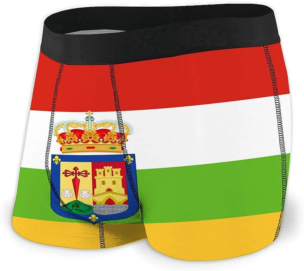 fgdhfgjhdgf 55 Men s Sport Underwear Bandera de la Rioja en españa: Amazon.es: Ropa y accesorios