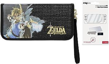 Funda Zelda para Nintendo Switch PDP y protector de pantalla ...