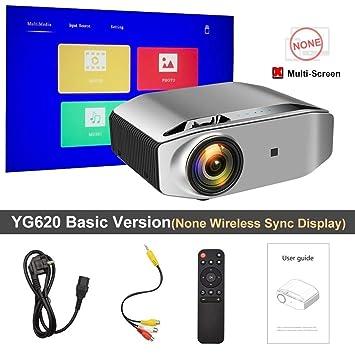 Proyector Full HD nativa de 1920 x 1080p 3D proyector YG621 ...