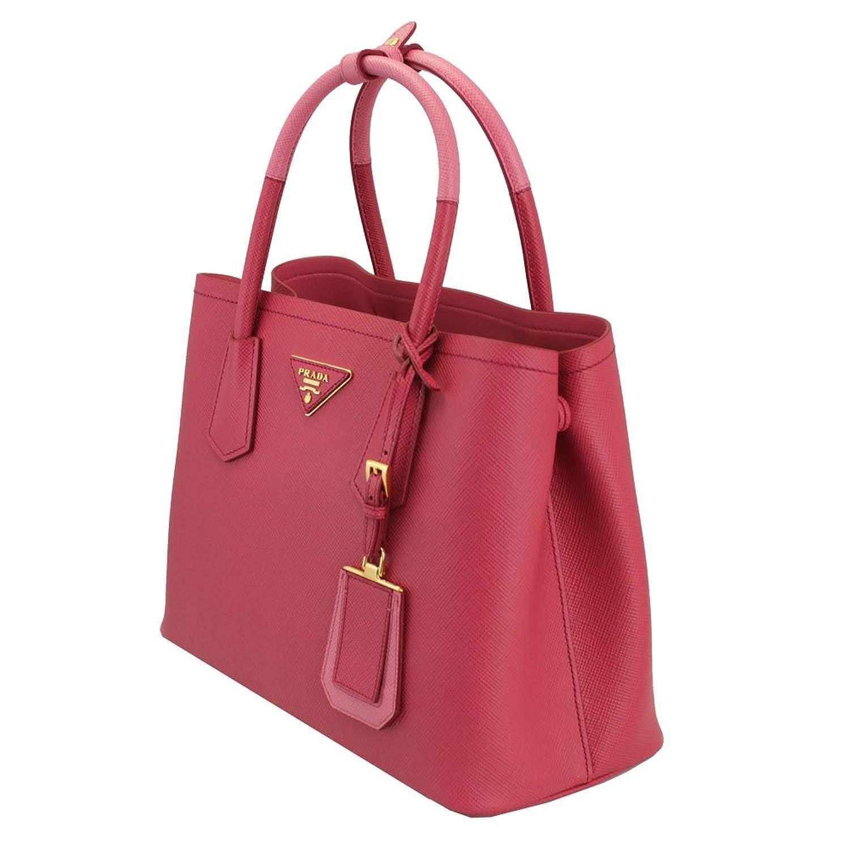 9ddfb68e5539 italy prada saffiano cuir small double bag cammeo 92120 1dc7b 2b390;  closeout amazon prada saffiano cuir double mini tote bag pink clothing  b43c9 ed0b1