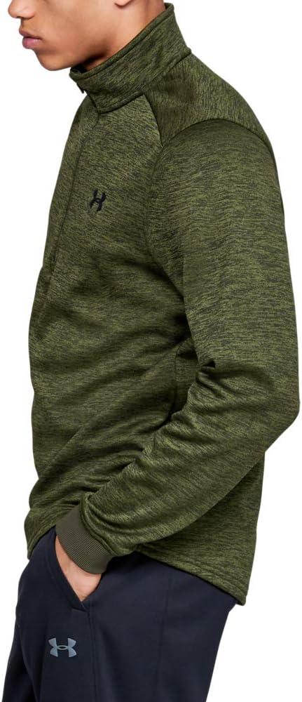 Under Armour Mens Fleece 1//2 Zip Warm-up Top