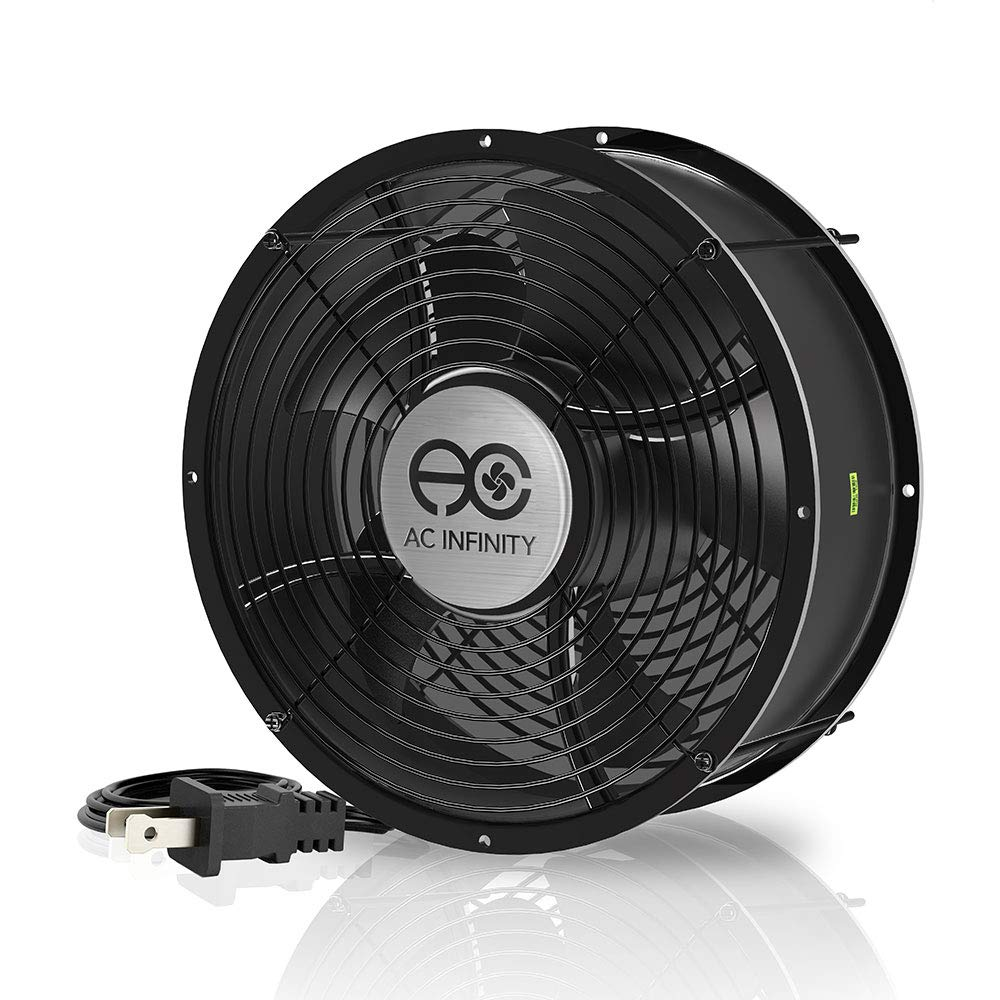 AC Infinity AXIAL 2589, Muffin Fan 10'', 120V AC Ø254mm x 89mm High Speed, for DIY Cooling Ventilation Exhaust Projects by AC Infinity