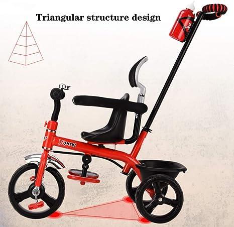 SONG Sillas de paseo Carrito De Bebé Bicicleta for Niños Triciclo ...