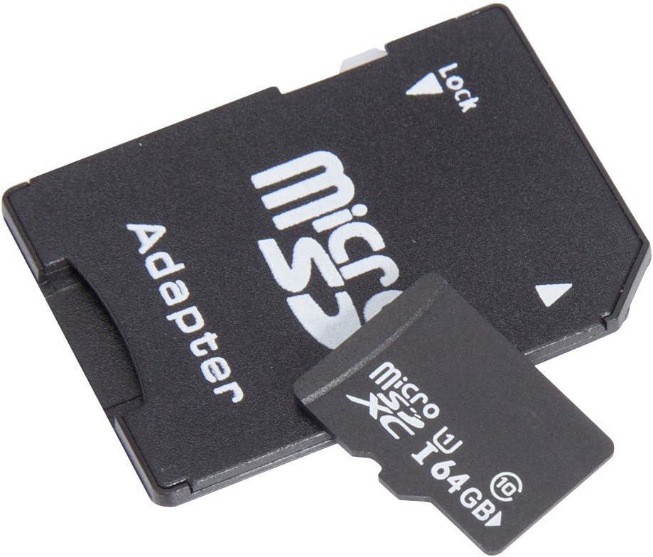 Redkcard Ultra 256/Go carte micro SDXC UHS-I Classe 10/avec adaptateur carte m/émoire /à haute vitesse carte TF 256