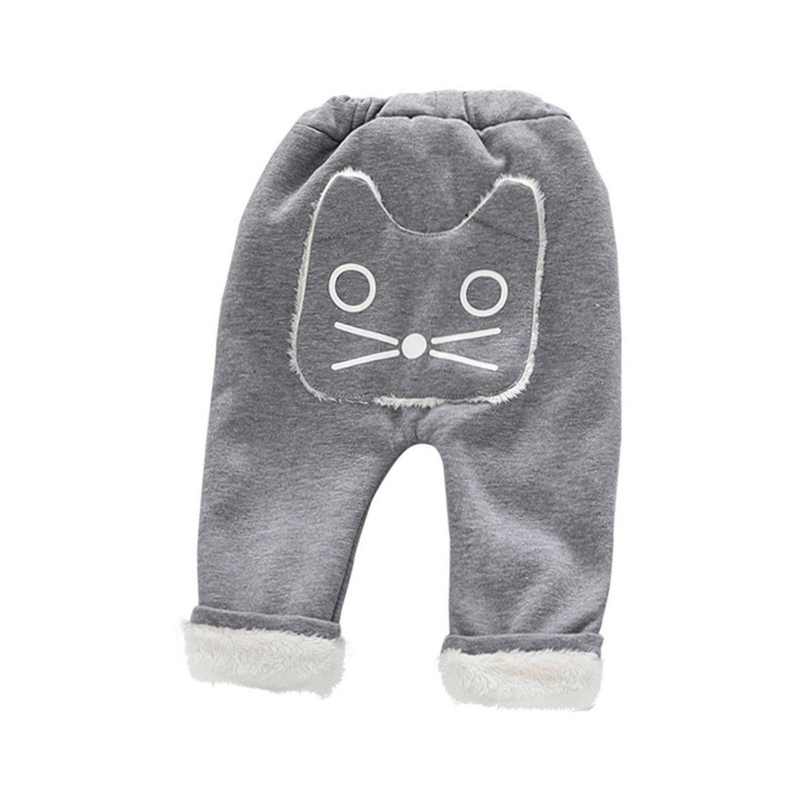 SHOBDW Boys Trousers, Baby Unisex Cute Leggings Velvet Animal Long Super Thick Winter Warm Children Kids Pants SHOBDW-51