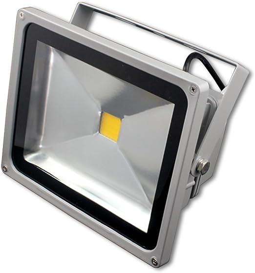 Blanc Chaud Terrasse Led projecteur Couloir Lampe de S/écurit/é pour Jardin 30W Floodlight /étanche IP65 120/°Grand Angle Patio