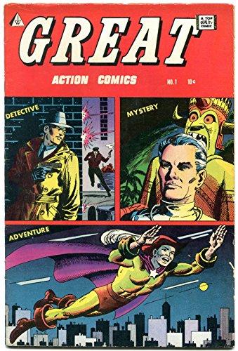 Great #1 1964- Golden Age comic Reprint - Severin- Captain Truth F/VF
