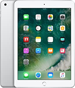 Apple iPad 2018, 32GB - Silver (Renewed)