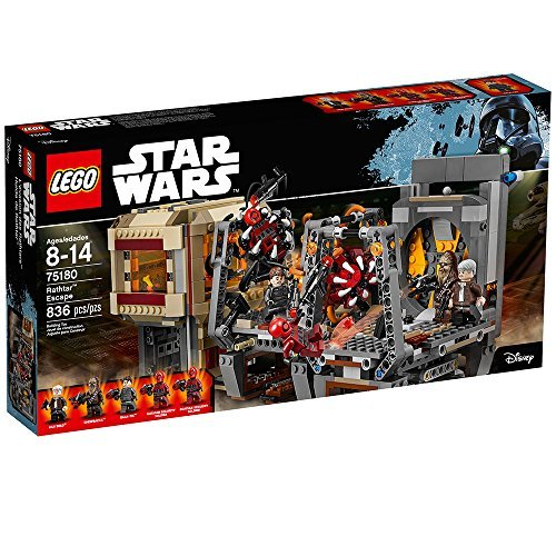 LEGO Star Wars Rathtar Escape 75180 Building Kit (Palpatine Lego Arrest Star Wars)