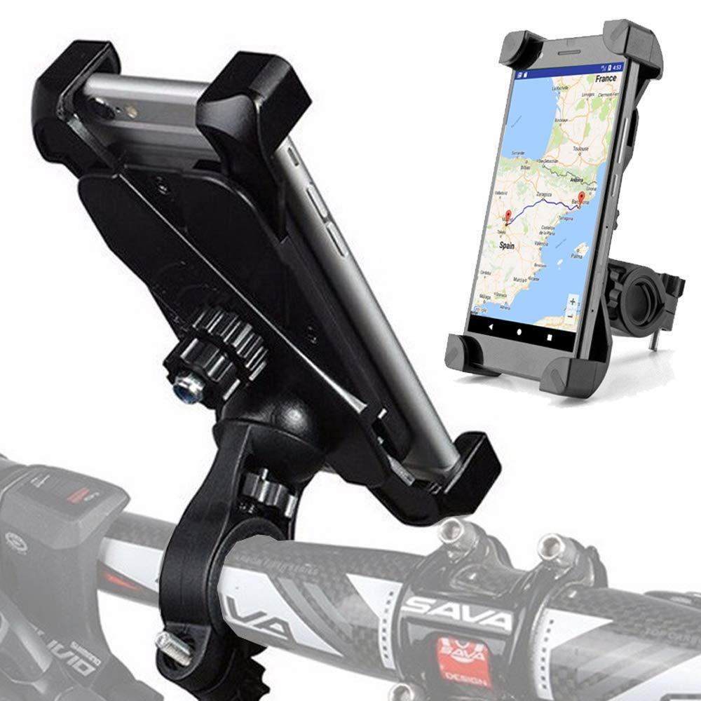 Universal bicicleta soporte–Para Bicicleta MTB Ebike Moto Quad etc.–para iPhone 567Samsung S5S6S7Edge S8Plus Ordenador Huawei Sony Wiko Motorola HTC LG, etc.–pe