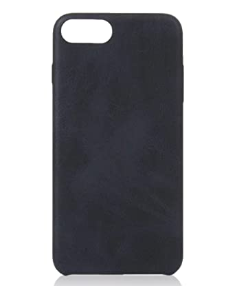 huge discount 29fbd fe0f5 GbR JV & MR iPhone 5/5s 6/6s Plus 7/7 Plus Case PU-Leather/Leathercase  ALCANTARA/inside velvety soft/Ultra slim thin (iPhone 7, Black)