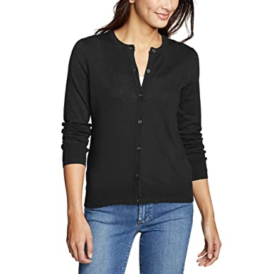 01f2e04ff9 Eddie Bauer Women s Christine Tranquil Cardigan Sweater at Amazon ...