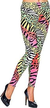 NET TOYS Extravagantes Leggins para Dama años 80 Animal Print - L ...