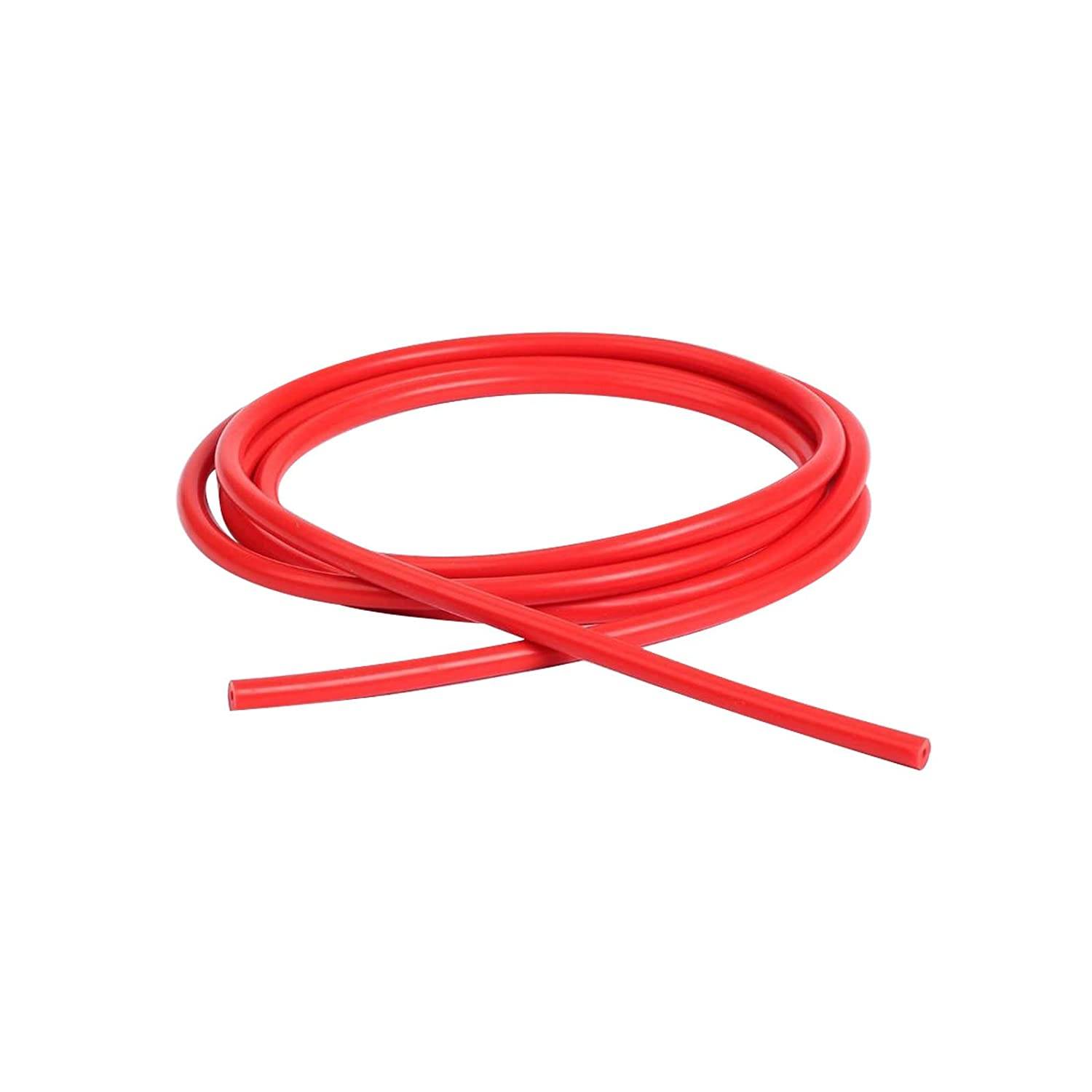 Universal 12mm Inner Diameter High Performance Silicone Vacuum Hose 5FT Red