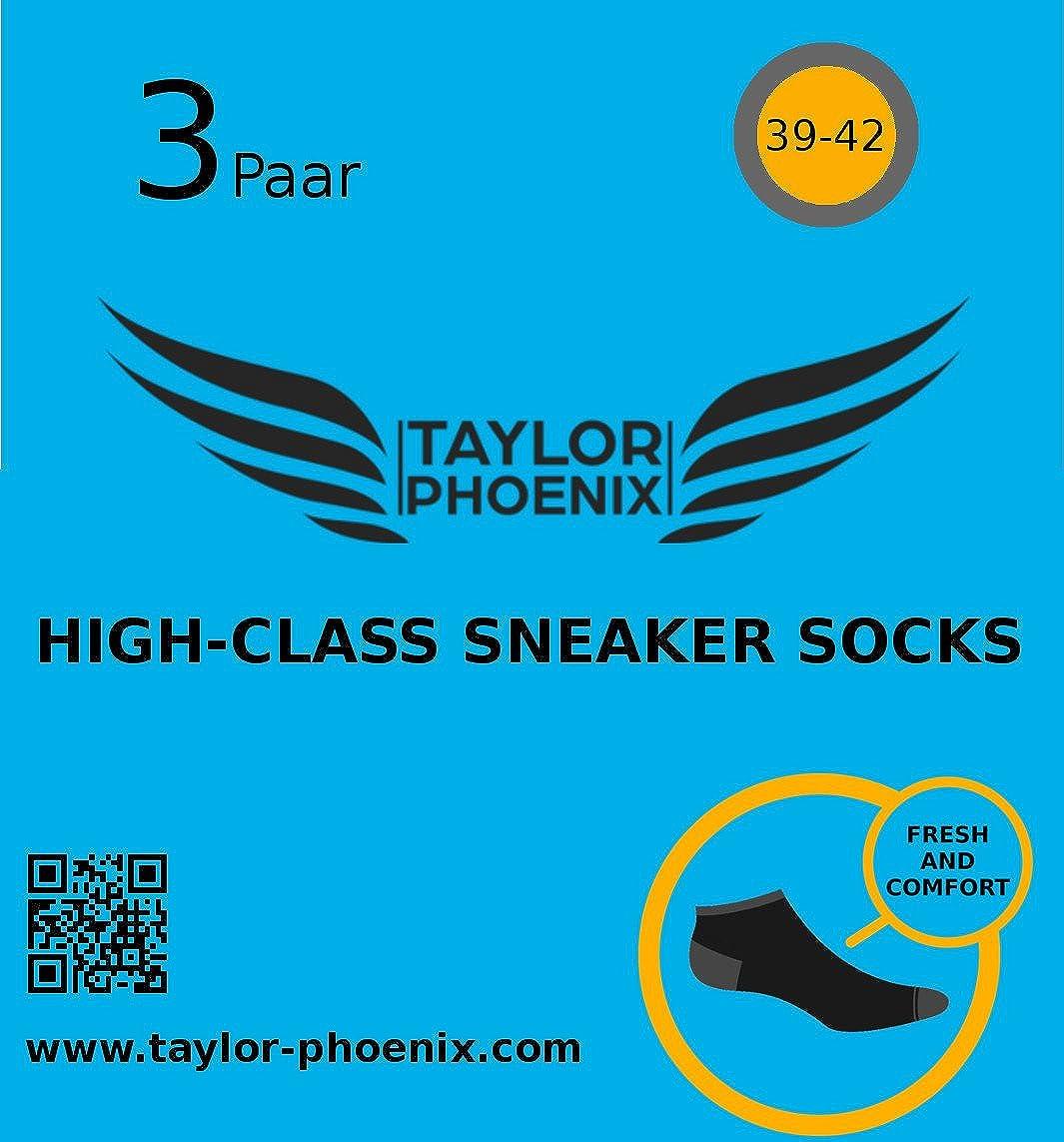 Taylor Phoenix para hombre Calcetines cortos